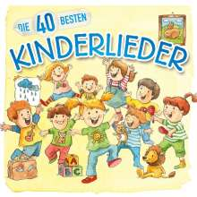 Die 40 besten Kinderlieder, CD