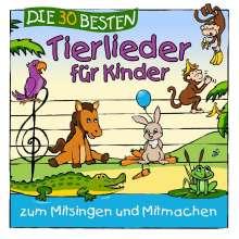 Simone Sommerland, Karsten Glück & Die Kita-Frösche: Die 30 besten Tierlieder für Kinder, CD