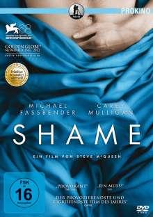 Shame, DVD