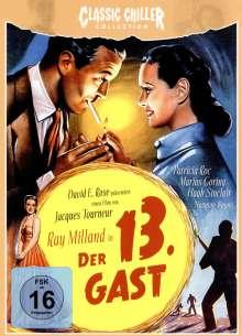 Der 13. Gast, DVD