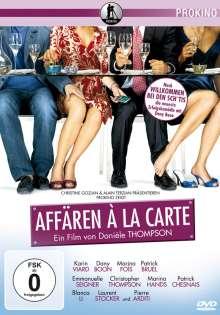 Affären A La Carte, DVD
