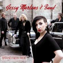 Jessy Martens: Brand New Ride, CD
