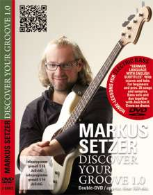 Markus Setzer: Discover Your Groove 1.0, DVD