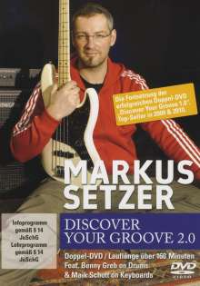 Markus Setzer: Discover Your Groove 2.0, DVD