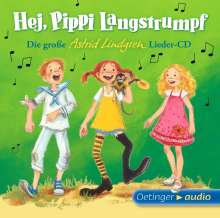 Astrid Lindgren: Hej, Pippi Langstrumpf! (1 CD), CD