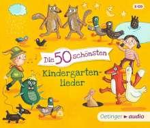 Various: Die 50 schönsten Kindergartenlieder, 3 CDs