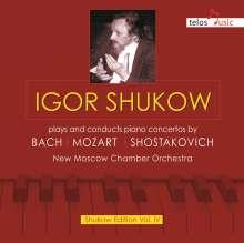 Igor Shukov spielt und dirigiert Klavierkonzerte, CD