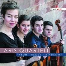Aris-Quartett - Haydn / Reger / Hindemith, CD