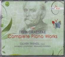 Felix Draeseke (1835-1913): Sämtliche Klavierwerke, 3 CDs