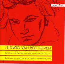 Ludwig van Beethoven (1770-1827): Klaviersonaten Nr.1,26,28, CD