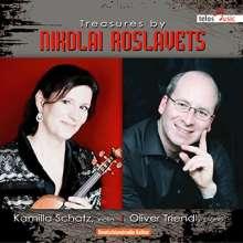 Nikolaj Roslavets (1881-1944): Kammermusik für Violine & Klavier, CD