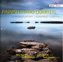 Finnish Piano Quartets, CD