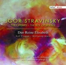 Igor Strawinsky (1882-1971): Le Sacre du Printemps (Fassung für 2 Klaviere), CD