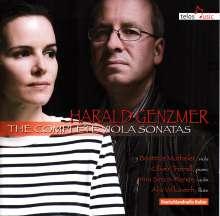 Harald Genzmer (1909-2007): Sonaten für Viola & Klavier Nr.1 & 2, CD