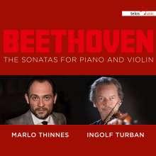 Ludwig van Beethoven (1770-1827): Violinsonaten Nr.1-10, CD