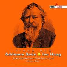 Johannes Brahms (1833-1897): Symphonie Nr. 4 (für 2 Klaviere), CD