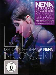 Nena: Made In Germany: Live In Concert, 2 DVDs