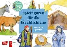 Jesus wird geboren. Spielfiguren für die Erzählschiene., Diverse