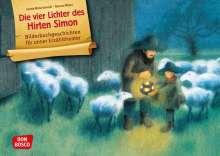 Gerda Marie Scheidl: Die vier Lichter des Hirten Simon. Kamishibai Bildkartenset., Diverse