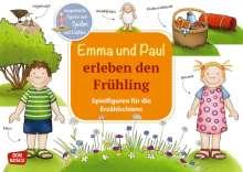 Monika Lehner: Emma und Paul erleben den Frühling., 1 Buch und 1 Diverse
