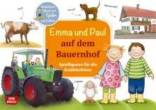 Monika Lehner: Emma und Paul auf dem Bauernhof. Spielfiguren für die Erzählschiene, Diverse