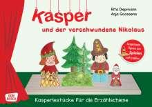 Rita Diepmann: Kasper und der verschwundene Nikolaus, 1 Buch und 1 Diverse