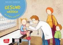 Monika Lehner: Gesund werden mit Emma und Paul. Kamishibai Bildkartenset, Diverse