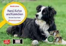 Monika Lehner: Hund, Katze und Kaninchen. Unsere Haustiere. Kamishibai Bildkarten und Memo-Spiel, Diverse