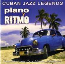 Cuban Jazz Legends - Piano Y Ritmo, CD