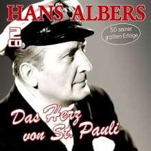 Hans Albers: Das Herz von St. Pauli - 50 seiner größten Erfolge, 2 CDs
