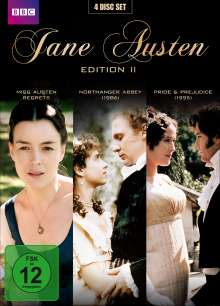 Jane Austen Edition 2, 4 DVDs