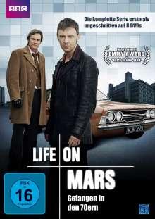 Life On Mars Season 1+2, 8 DVDs