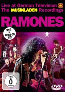 Ramones: The Musikladen Recordings:Live At German Television (DVD+CD), 1 DVD und 1 CD