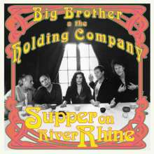 """Big Brother & The Holding Company: Supper On River Rhine (Limited-Edition) (Green Vinyl), Single 10"""""""