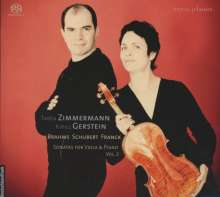 Tabea Zimmermann & Kirill Gerstein Vol.2 - Brahms/Schubert/Franck, Super Audio CD