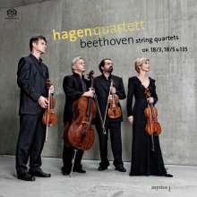 Ludwig van Beethoven (1770-1827): Streichquartette Nr.3,5,16, SACD