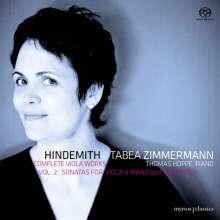 Paul Hindemith (1895-1963): Sämtliche Werke für Viola Vol.2 - Viola & Klavier, 2 SACDs