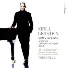 Kirill Gerstein spielt Klavierkonzerte, SACD