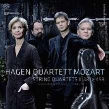 Wolfgang Amadeus Mozart (1756-1791): Streichquartette Nr.14 & 17, Super Audio CD