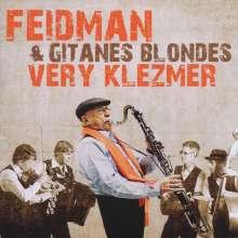 Giora Feidman (geb. 1936): Very Klezmer, CD