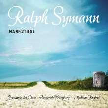 """Ralph Symann (geb. 1974): Orchesterwerke """"Marksteine"""", CD"""