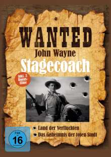 Wanted - John Wayne: Stagecoach, DVD
