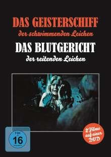 Das Geisterschiff der schwimmenden Leichen / Das Blutgericht der reitenden Leichen, DVD