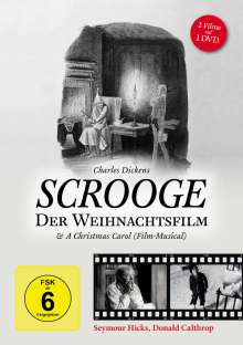 Scrooge - Der Weihnachtsfilm & A Christmas Carol (2 Filme), DVD