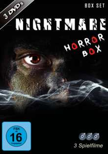Nightmare Horror Box, 3 DVDs
