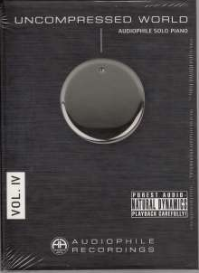 Uncompressed World Vol.IV: Audiophile Solo Piano, CD
