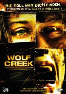 Wolf Creek (Collector's Edition), 2 DVDs