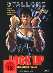 Lock Up (Blu-ray im Mediabook), Blu-ray Disc