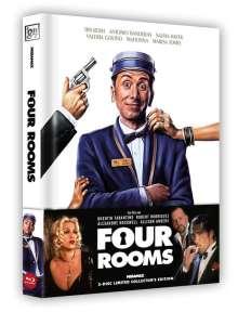 Four Rooms (Blu-ray & DVD im wattierten Mediabook), 2 Blu-ray Discs