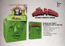 The Toxic Avenger (Büsten Edition) (Blu-ray & DVD im Mediabook), 4 Blu-ray Discs, 3 DVDs und 1 CD